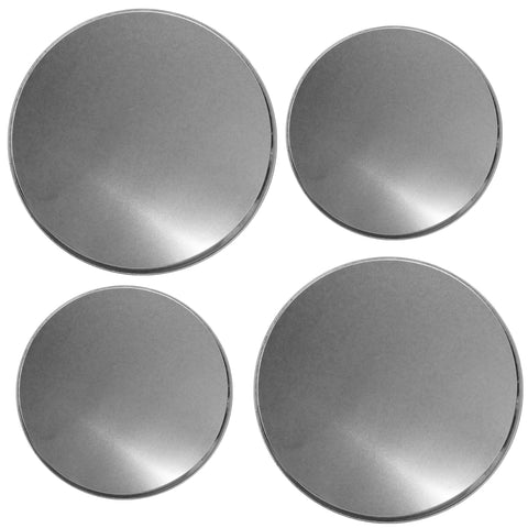 Tin Burner Cover Set, Stainless Steel