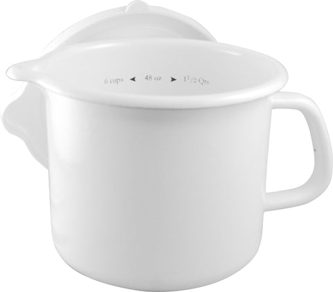 4-In-One Stock Pot, White