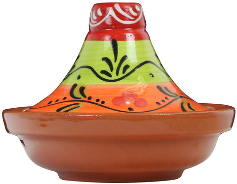 Hand Painted Miniature Tagine, Valencia Series