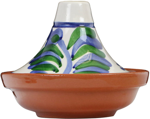 Hand Painted Miniature Tagine, Malaga Series