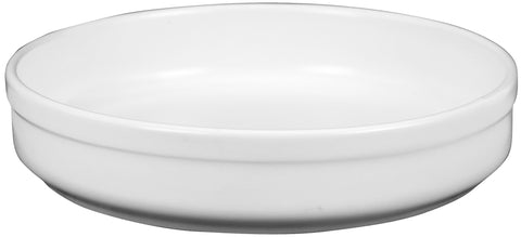 Eurita Round Cooking Pan/Dish, White Large