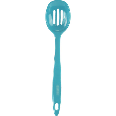 Melamine Slotted Spoon,  Turquoise