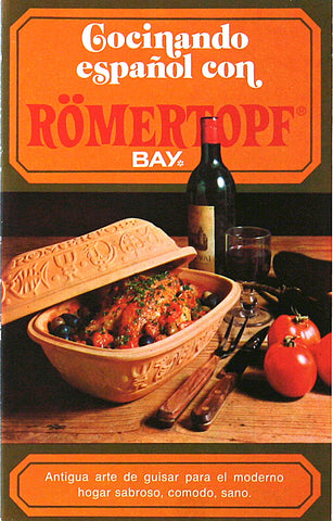 Romertopf Cookbook, Translated in Spanish