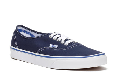 vans-unisex-authentic-skate-sneakers-dress-blue-nautical-blue-canvas-3/4shot