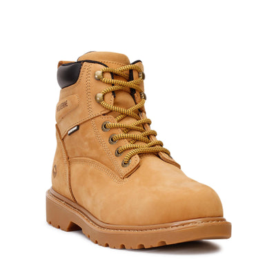 wolverine-mens-6-work-soft-toe-waterproof-boots-floorhand-wheat-w10642-3/4shot