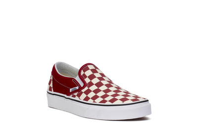 vans-adult-sneakers-classic-slip-on-checkerboard-rumba-red-true-white-vn0a38f7vlw-3/4shot