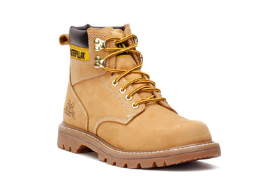caterpillar-mens-work-boots-second-shift-honey-suede-p70042-3/4shot