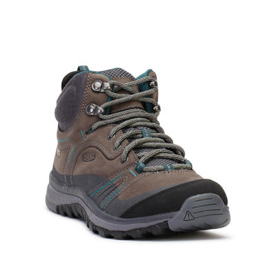 keen-womens-hiking-boots-terradora-mid-leather-waterproof-mushroom-magnet-1017750-3/4shot