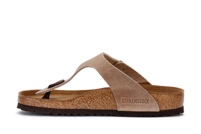 Birkenstock Women's Thong Sandals Gizeh BS Tobacco Brown 943811