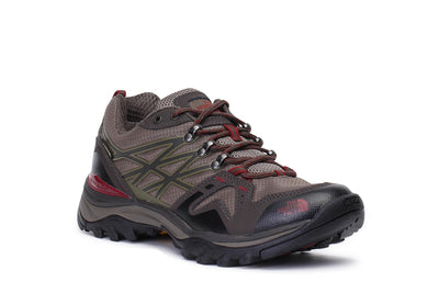 the-north-face-mens-hedgehog-fastpack-gtx-hiking-shoes-brown-red-cdf8azl-3/4shot