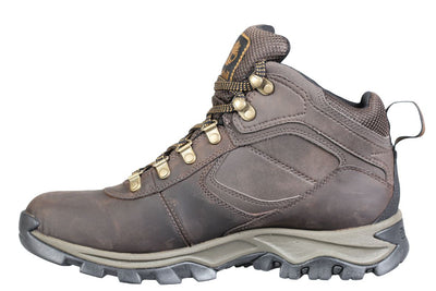 timberland-mens-boots-mt-maddsen-brown-waterproof-leather-2730r-3/4shot
