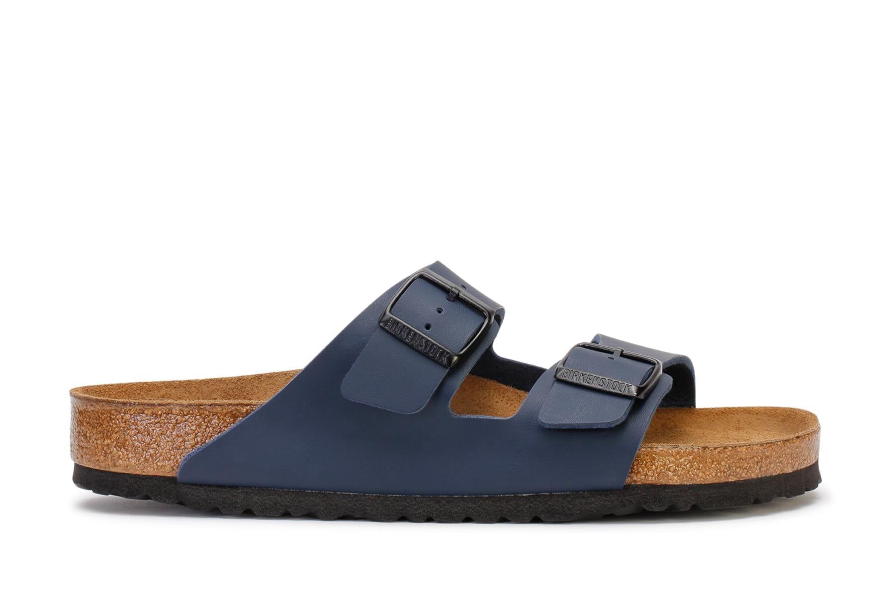 Birkenstock Men's Slide Sandals Arizona BS Blue Birko-Flor 51061