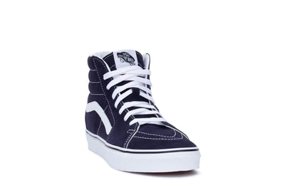 vans-mens-sk8-hi-sneakers-night-sky-true-white-vn0a4bv6v7e-3/4shot