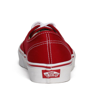 vans-unisex-authentic-skate-sneakers-red-canvas-3/4shot