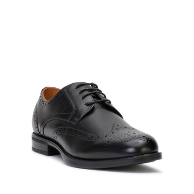florsheim-mens-dress-shoes-midtown-wingtip-oxford-black-leather-3/4shot
