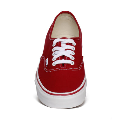 vans-unisex-authentic-skate-sneakers-red-canvas-front
