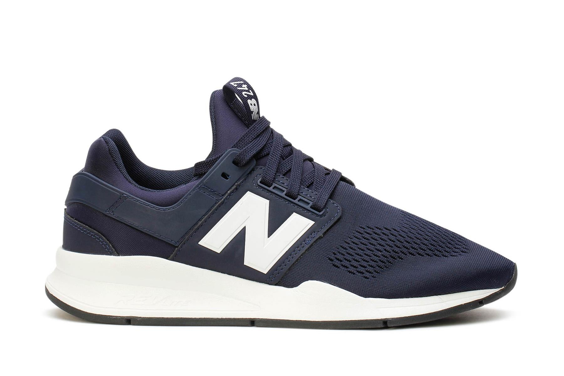 New Balance Men's Sneakers 247 Sport Style Navy White MS247EN