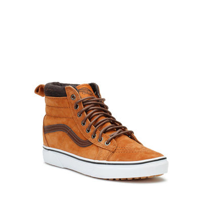 vans-mens-sneakers-sk8-hi-mte-glazed-ginger-plaid-3/4shot