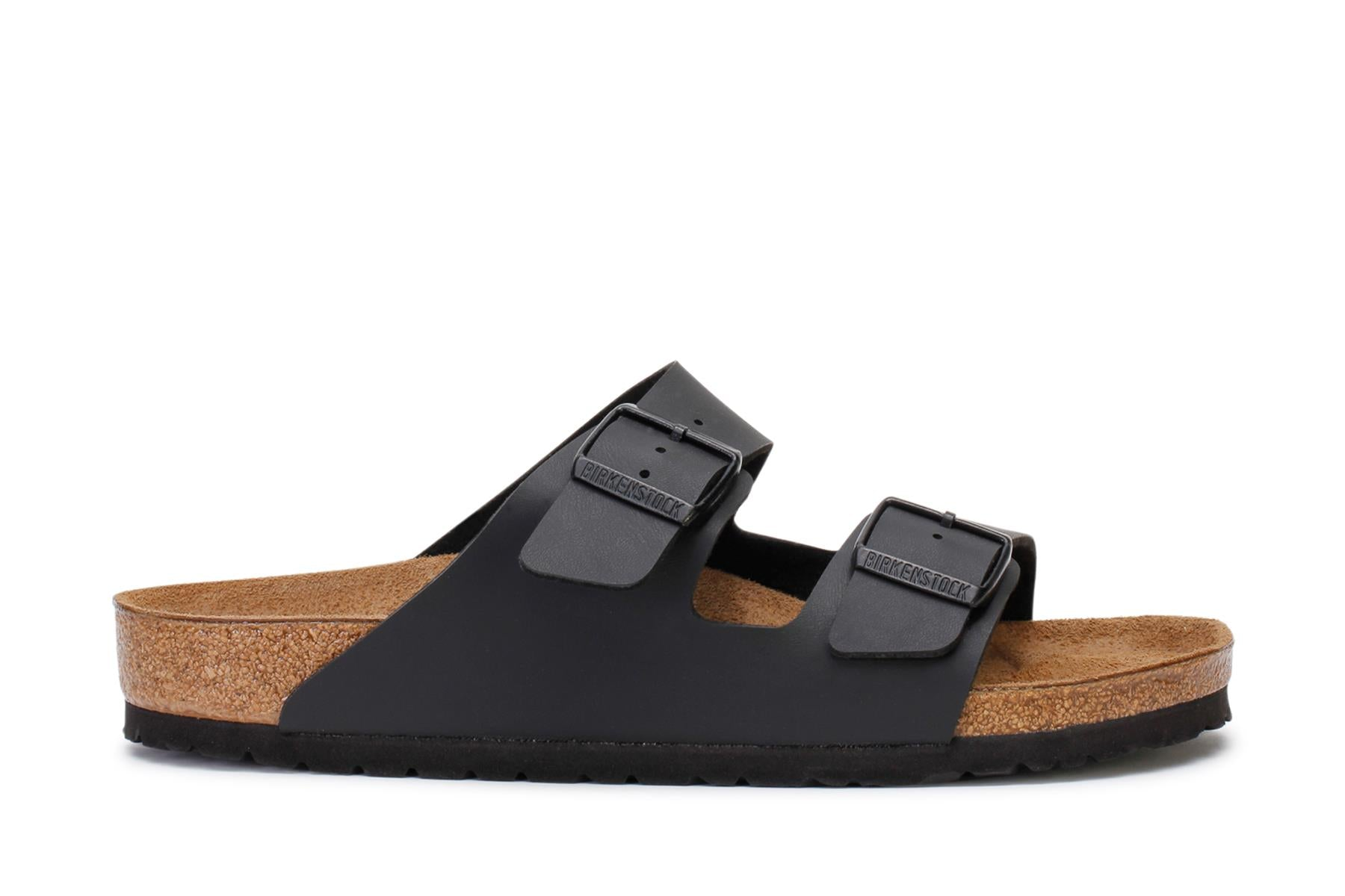 Birkenstock Men's Slide Sandals Arizona Black Birko-Flor 0051791