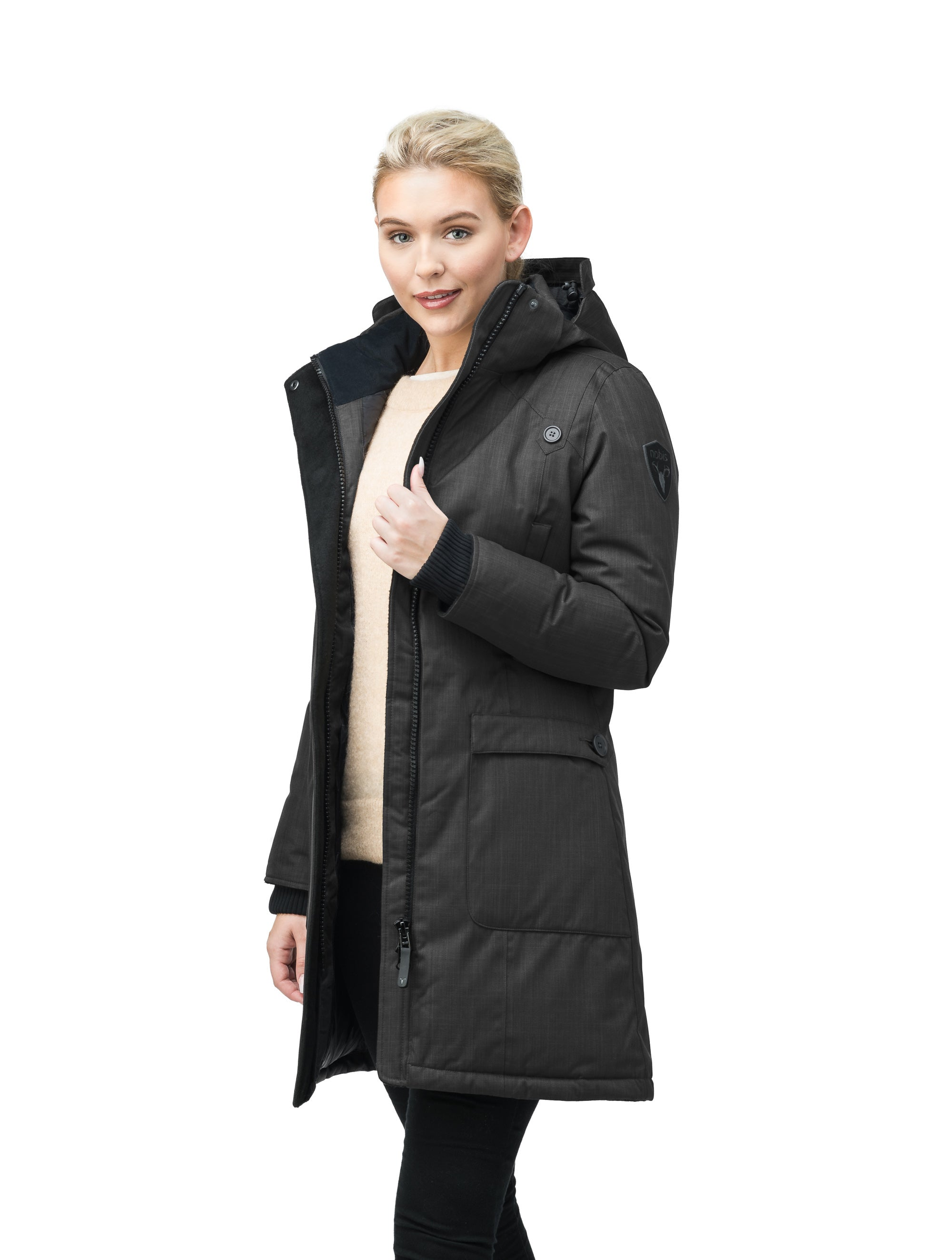 nobis-womens-merideth-ladies-parka-jackets-crosshatch-black-main