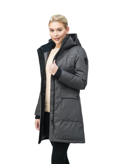 nobis-womens-merideth-ladies-parka-jackets-crosshatch-steel-grey-opposite