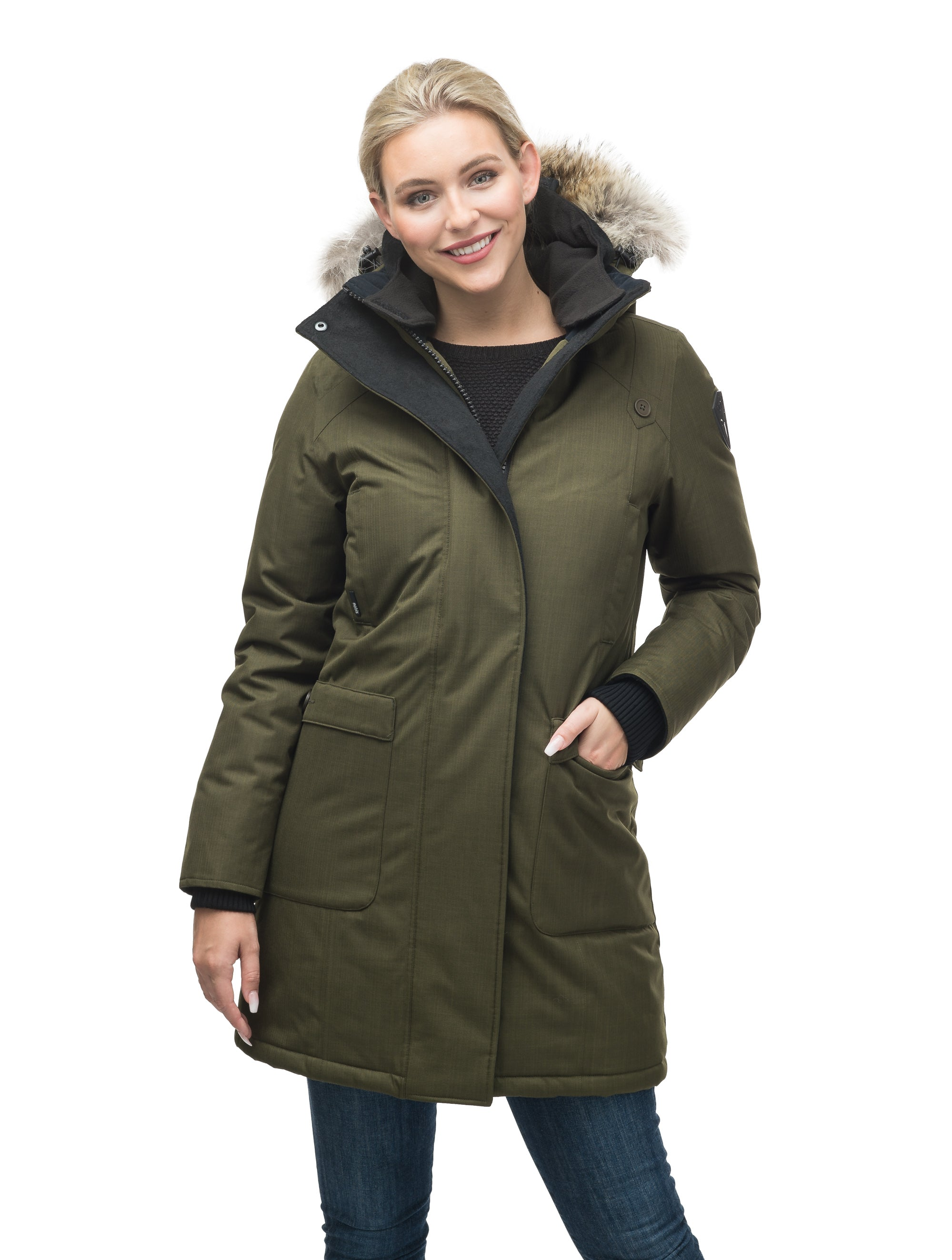 nobis-womens-merideth-ladies-parka-jackets-crosshatch-fatigue-main