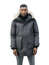 nobis-mens-yatesy-long-parka-jackets-crosshatch-steel-grey-front