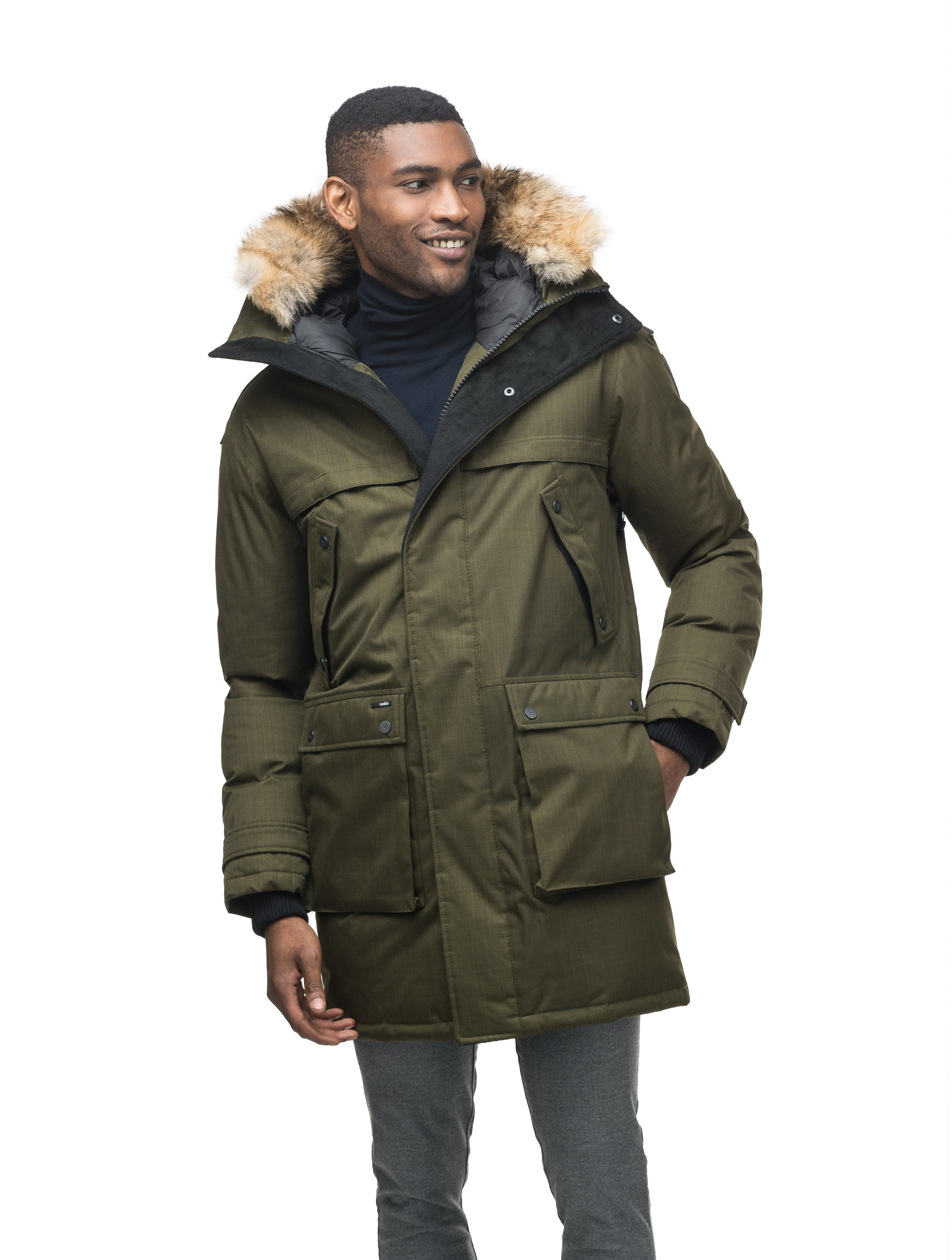 Yatesy Long Parka Jackets