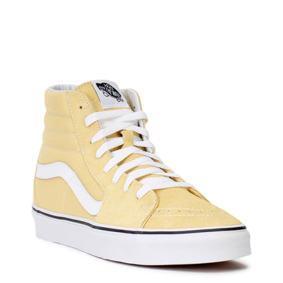 vans-mens-sk8-hi-sneakers-dusky-citron-true-white-vn0a38geoux-3/4shot