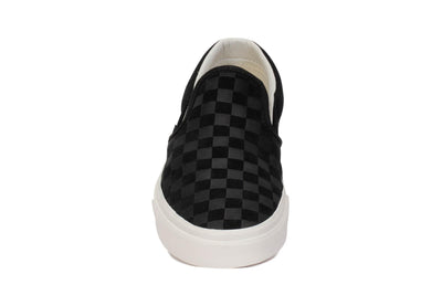 vans-mens-sneakers-classic-slip-on-checker-emboss-black-marshmallow-vn0a38f7qcf-front