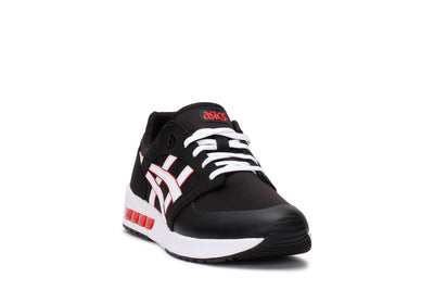 asics-tiger-mens-lifestyle-sneakers-gel-saga-sou-black-white-3/4shot