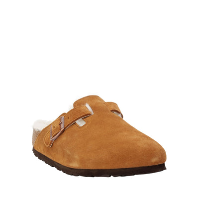 Boston Shearling Birkenstock Clog Shoes
