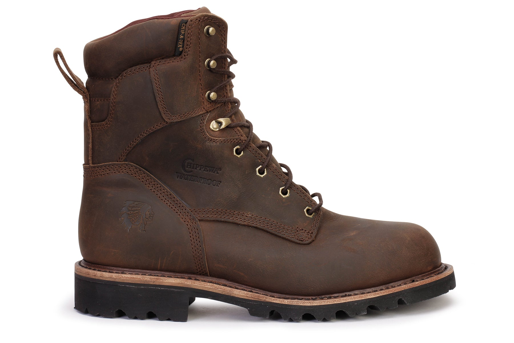 "8"" Steel Toe Boot"