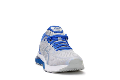 asics-mens-running-sneakers-gel-nimbus-21-lite-show-mid-grey-illusion-blue-3/4shot
