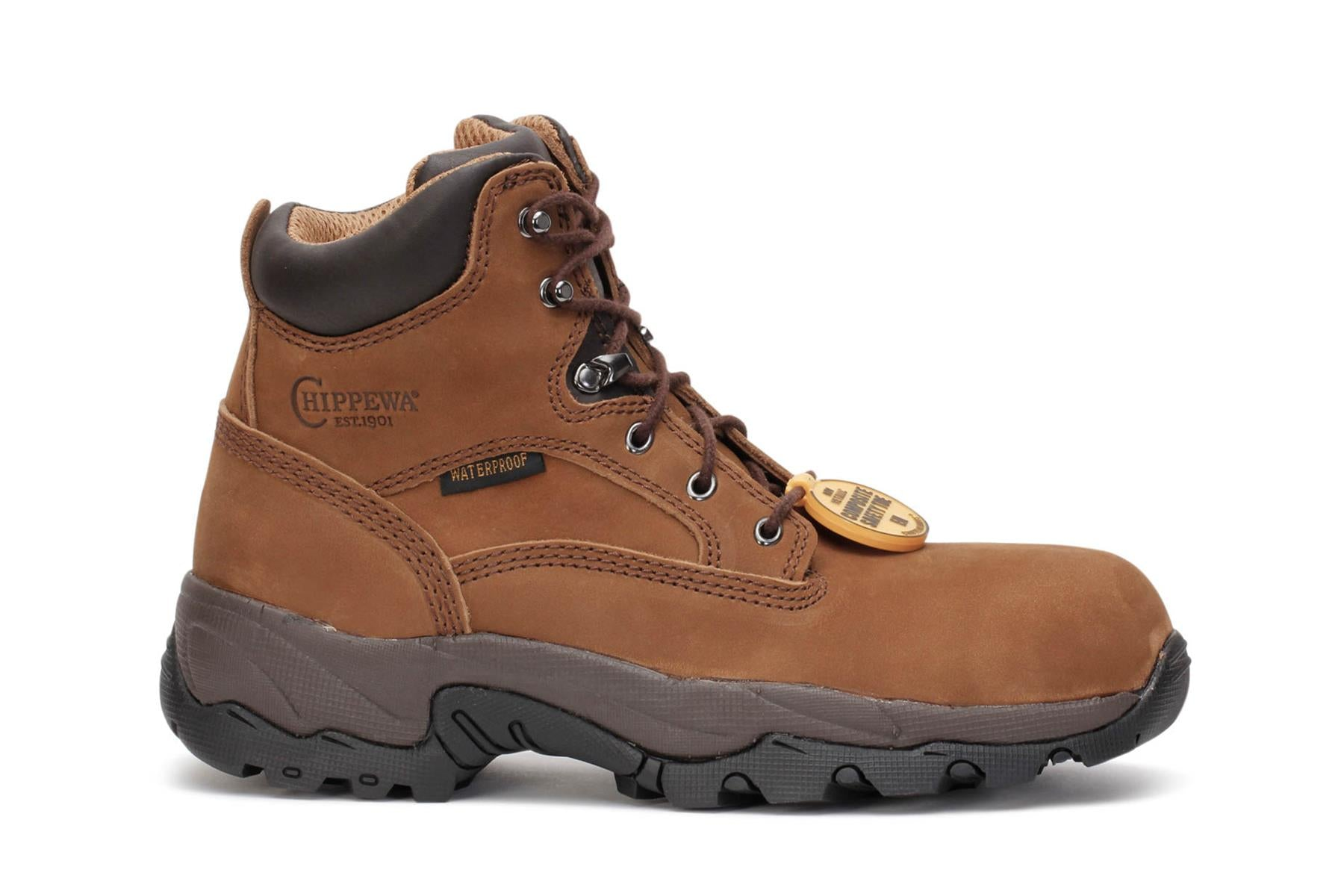"6"" Gareme Composite Toe Chippewa Work Boots"