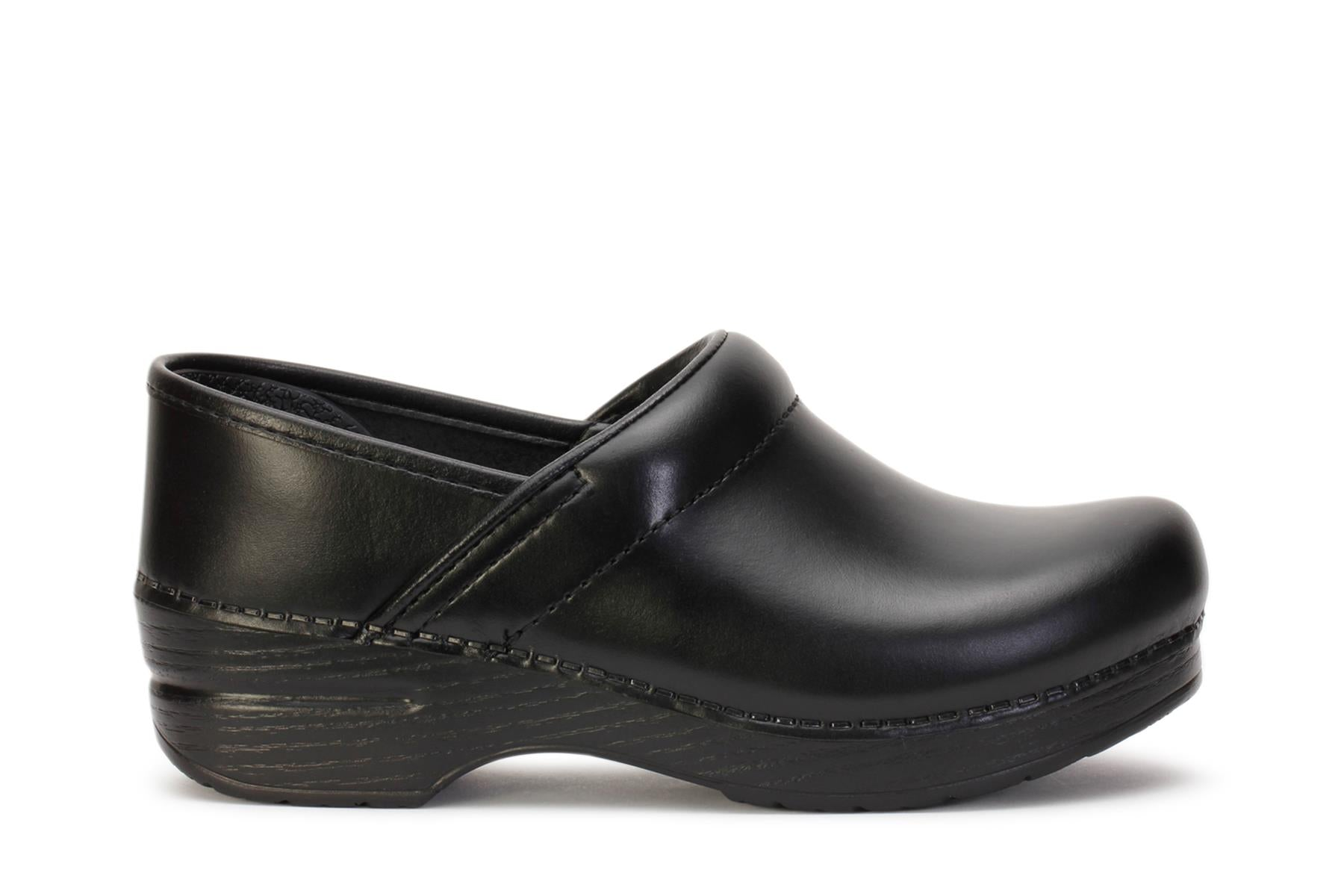 dansko-womens-clog-shoes-professional-black-cabrio-leather-806020202-main