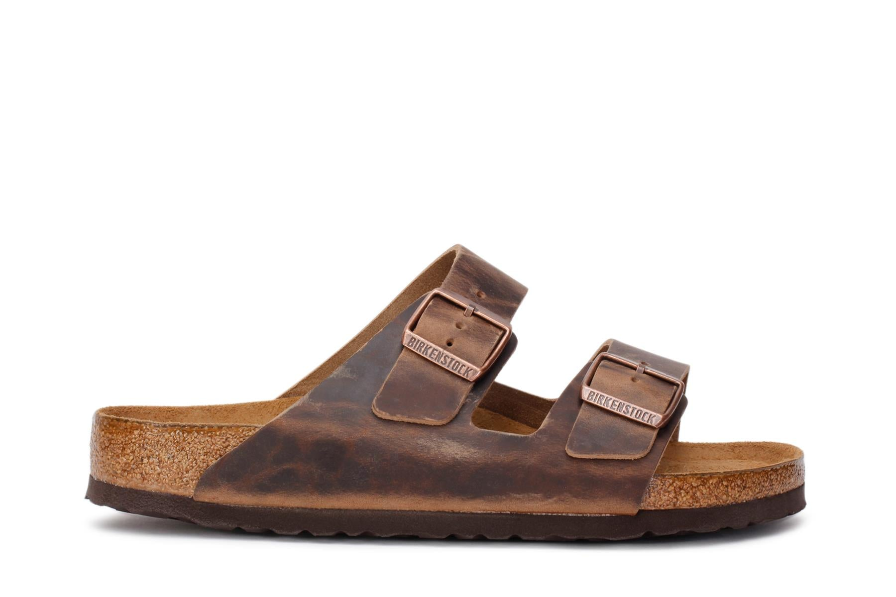 Arizona Soft Footbed Oiled Nubuck Birkenstock Sandals