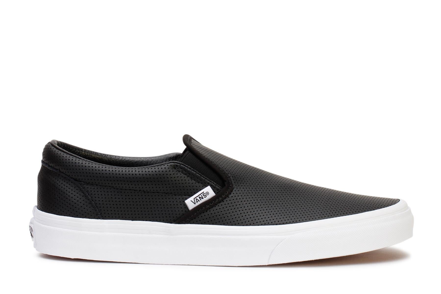 vans-mens-casual-sneakers-classic-slip-on-black-perf-leather-vn000xg8dj6-main