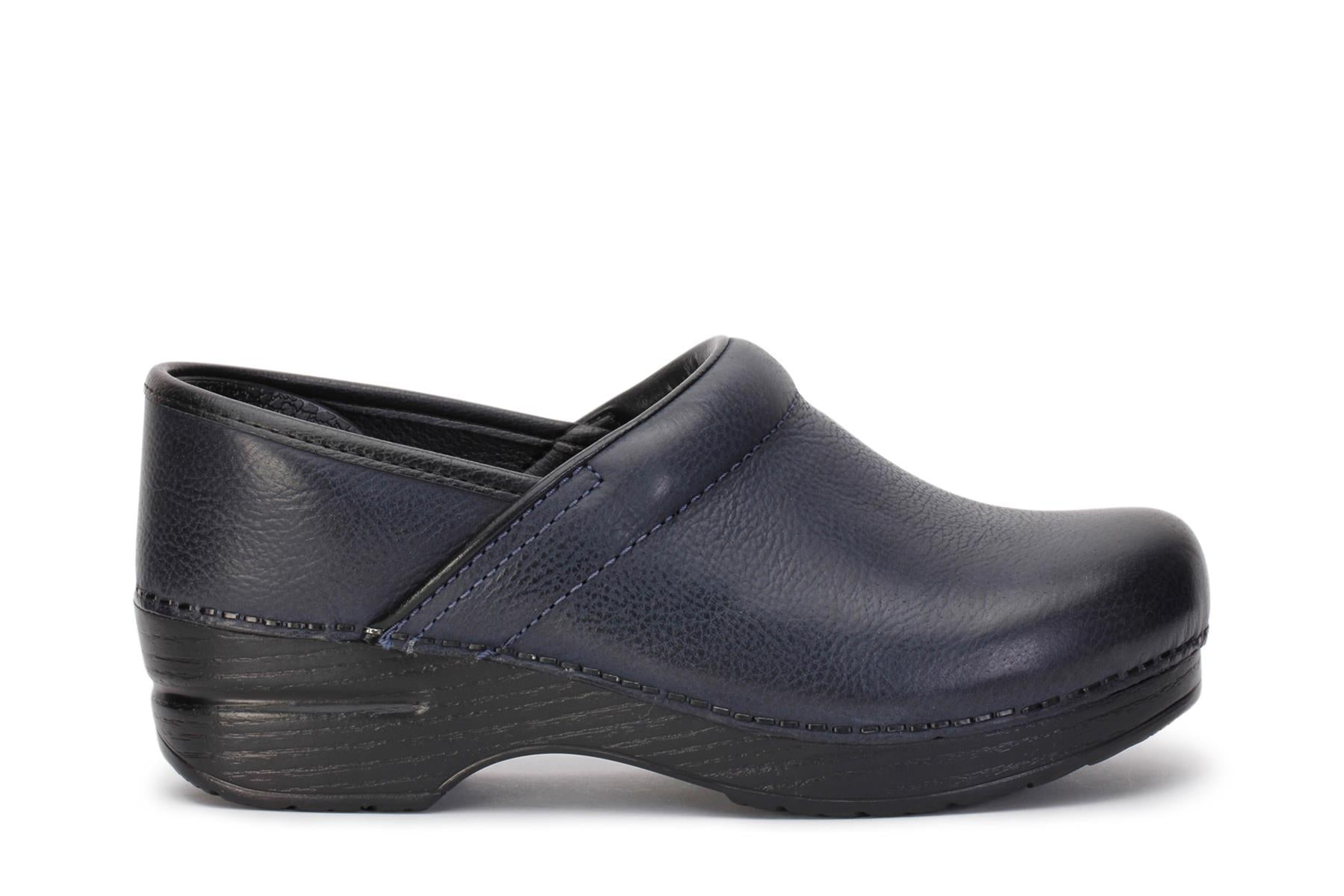 dansko-womens-clog-shoes-professional-navy-burnished-nubuck-106750202-main