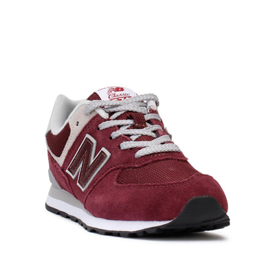 new-balance-kids-sneakers-574-classic-burgundy-grey-gc574gb-heel
