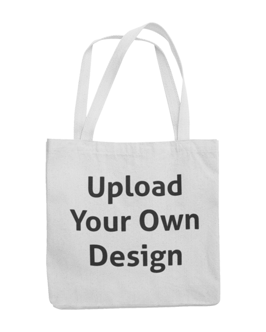 White canvas bag that you can personalise with the words