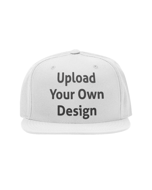 A cap that you can personalise showing an