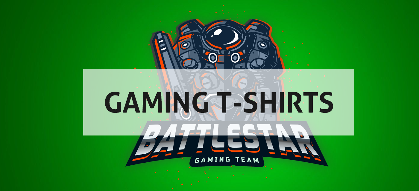 Image for Gaming t-shirt design collections with the words