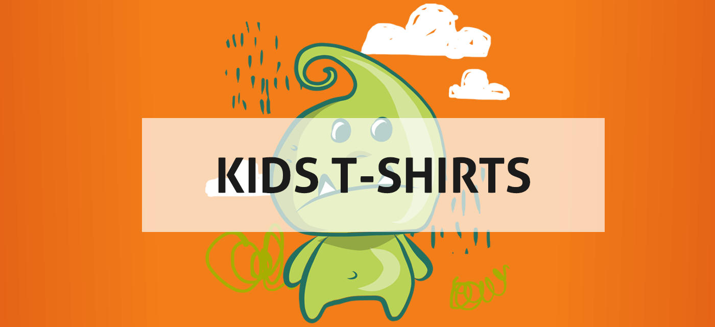 Image for Kids t-shirt design collections with the words