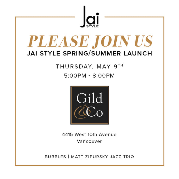 You're invited to the launch of our Spring/Summer Collection