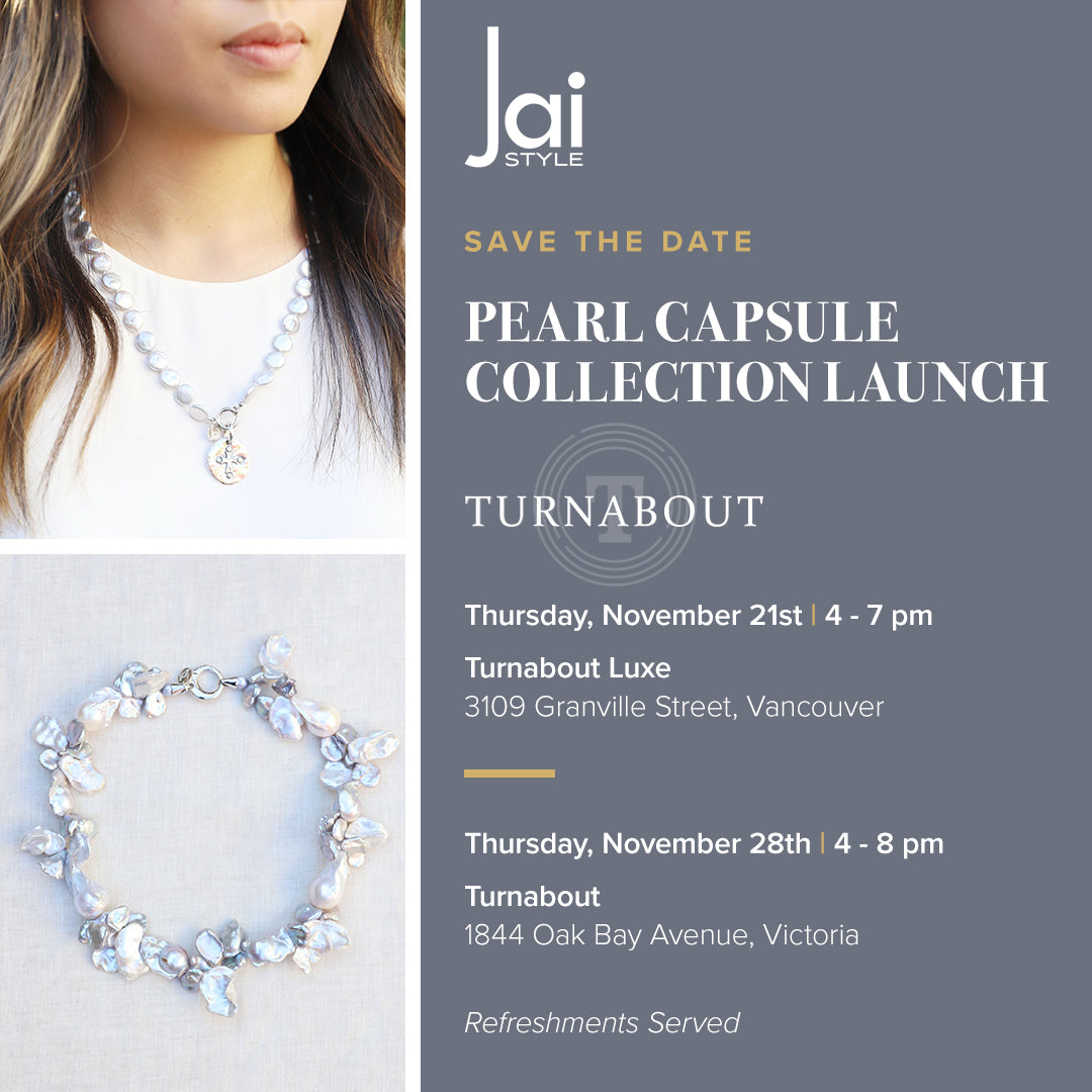 Join us! Pearl Capsule Collection Launch