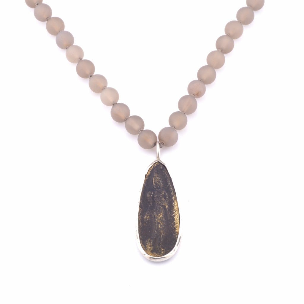 length jasper with set moss products inches agate sterling total forest and silver necklace