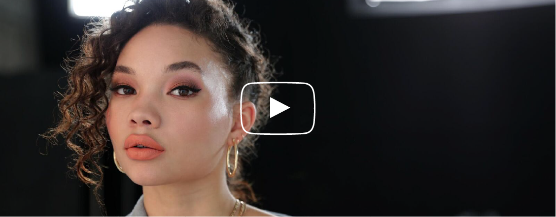 Youtube Summer Bronze with a Coral Lip: How To