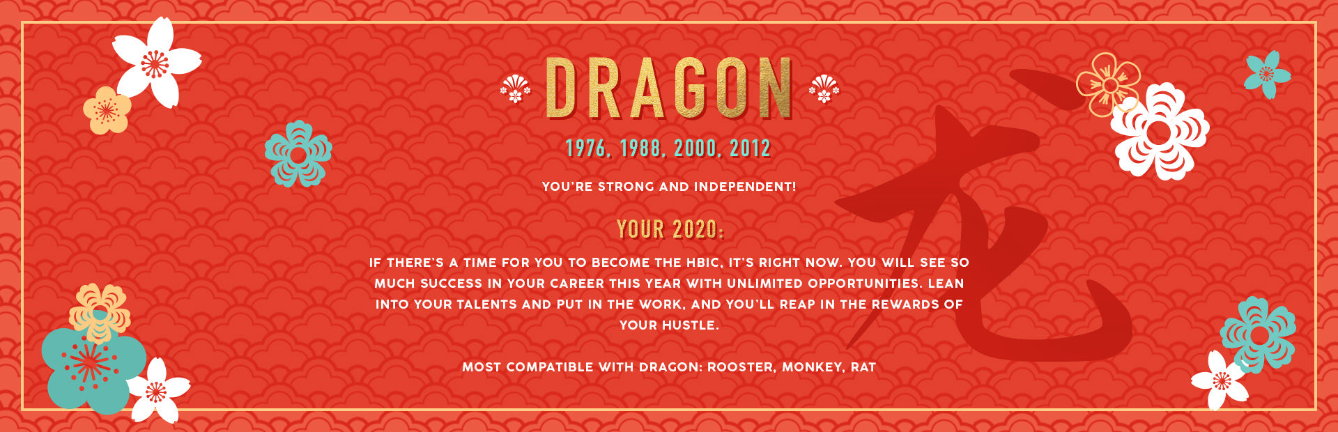 Dragon Lunar New Year Collection Banner Image