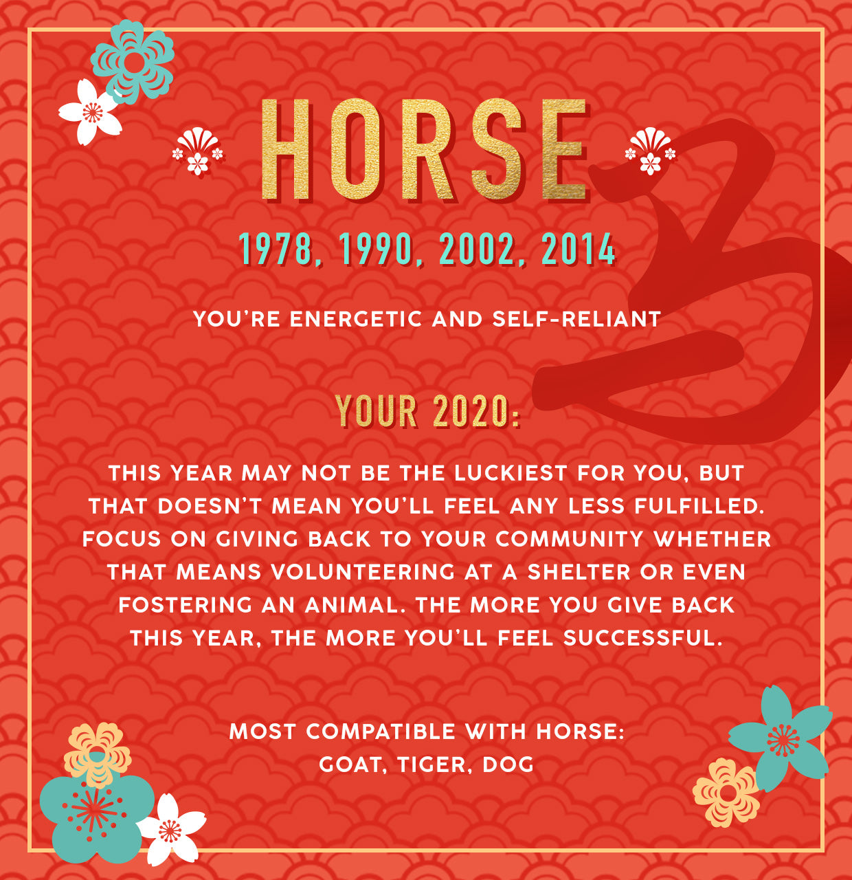 Horse Lunar New Year Collection Banner Image